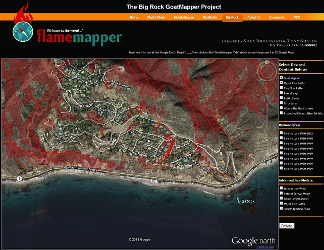 goat mapper website