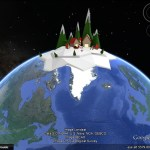 Santa's village on Google Earth