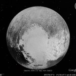 Latest Pluto map in Google Earth