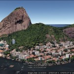 Rio 3D imagery and Google Earth's elevation data
