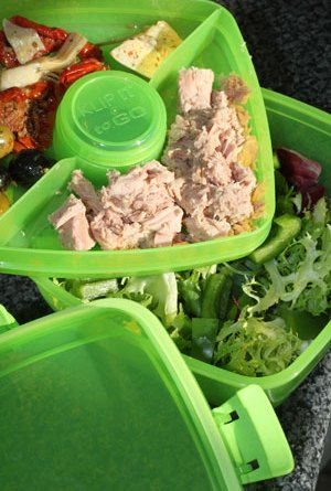 A picnic box for those with OCD tendencies