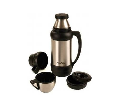 Termosy i kubki termiczne Aladdin 1.8 Litre Stainless Steel One of A Kind Challenger Flask 10-00695-000