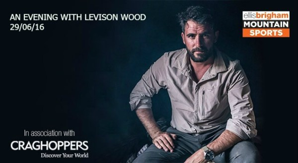 Levison Wood Talk text and logo