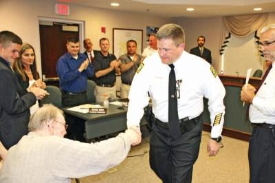 Scott Niehus Sworn in as Chardon Police Chief | Geauga County Maple Leaf