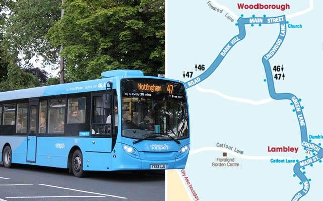 Bus firm announces plans to reduce Sky Blue 47 service when council funding ends later this month
