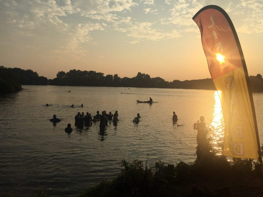 PIC OF THE WEEK: Open water swimmers in Colwick