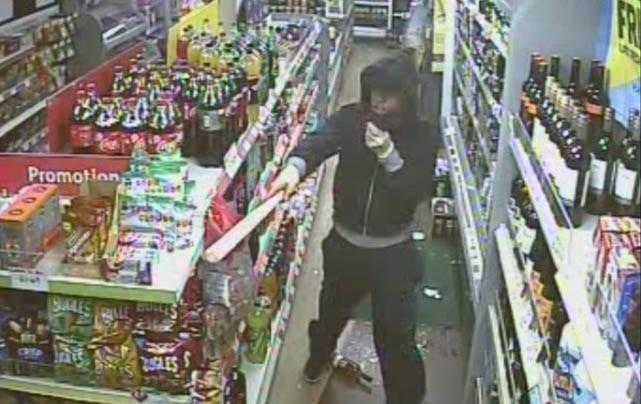 Police hunt for robber who threatened staff at Sherwood store with baseball bat