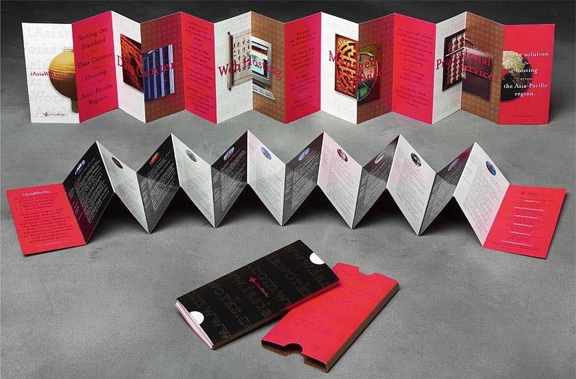 Gee + Chung Design iAsiaWorks Accordion Fold - accordion fold brochure