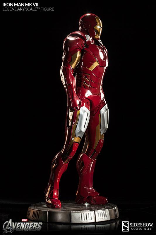 Mk Name Wallpaper Hd 3 Foot Tall Iron Man Mark Vii Legendary Scale Figure