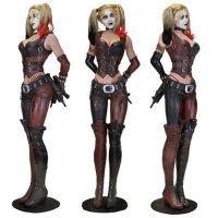 Batman: Arkham City Harley Quinn Life-Size Statue Foam ...