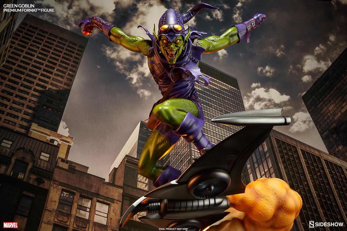 Amazing Spider Man 3d Wallpaper Green Goblin Premium Format Figure