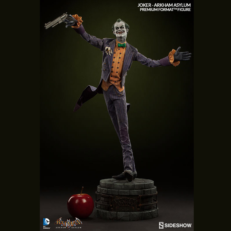 Lego Star Wars Iphone Wallpaper Joker Arkham Asylum Premium Format Figure