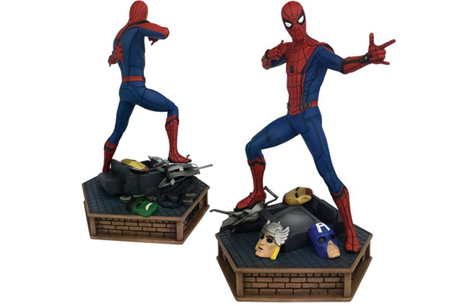 Marvel Premier Collection Spider Man Homecoming Statue