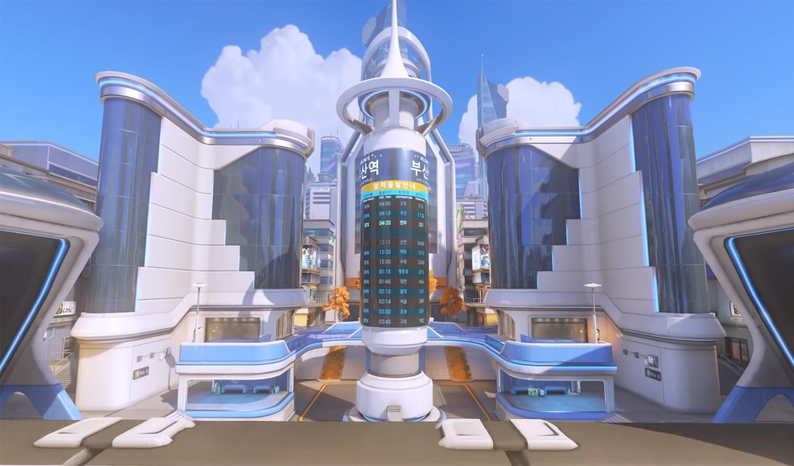 Doctor Who Animated Wallpaper New Overwatch Control Map Busan