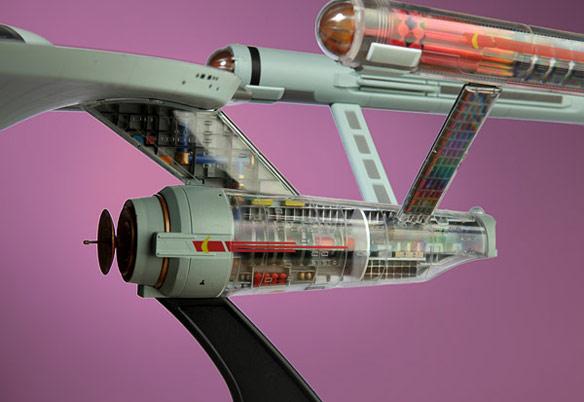 Star Trek Enterprise Cutaway Model