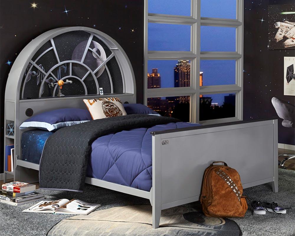 Millennium Falcon Bookcase Bed