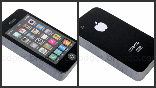 Imemo Physical Iphone Notepad
