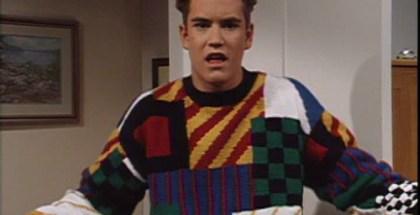 Zack Morris sweater
