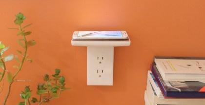 WallJax_EZ_charging_s6_screeen_lit_up_orange_wall