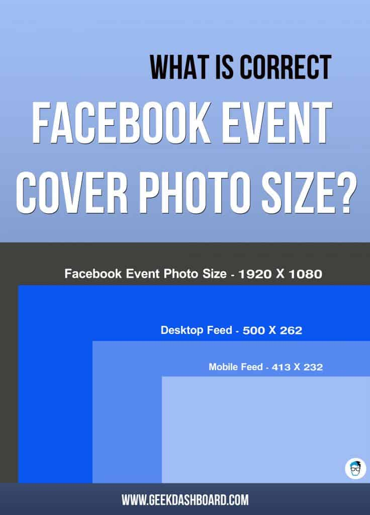 Facebook Event Photo Size 2017 - What is the correct size as of today? - facebook header template