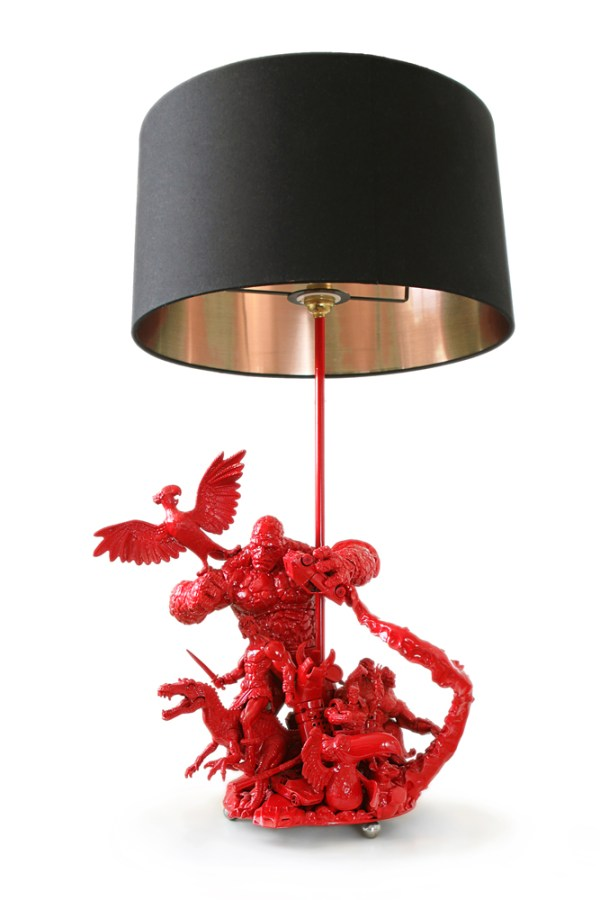 Action Figure Lamp 2