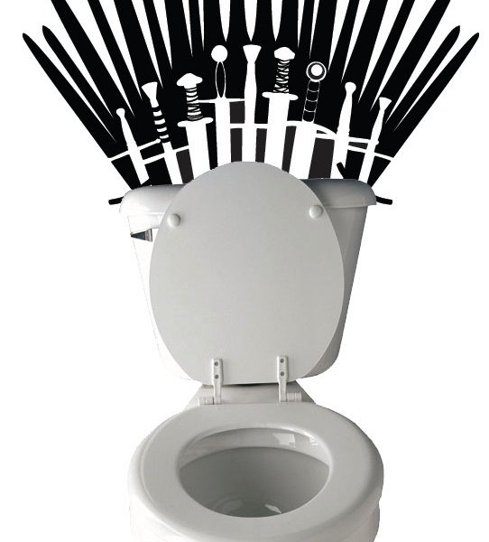 Game of Thrones Toilet Decal 1