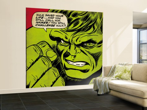 Classic Marvel Wall Mural 2
