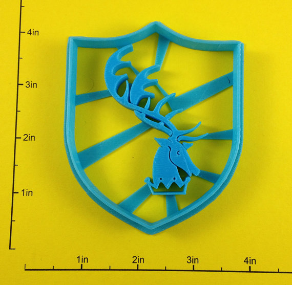 Game of Thrones Sigil Cookie Cutters 4