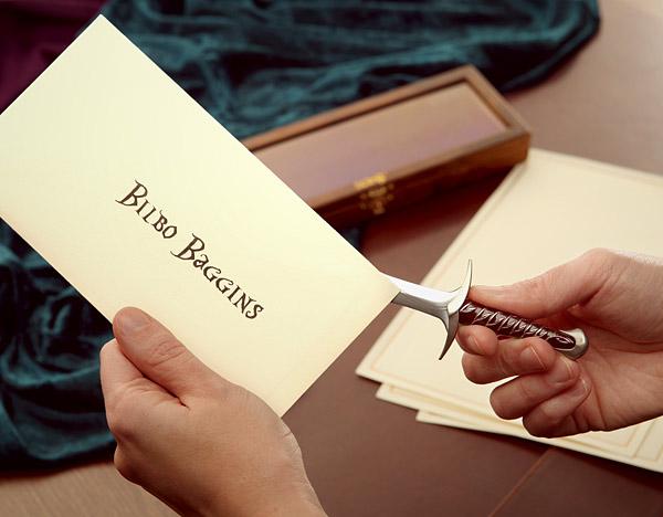 Hobbit Letter Opener 2
