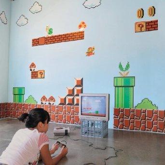 Super Mario Bros. Wall Graphics 1
