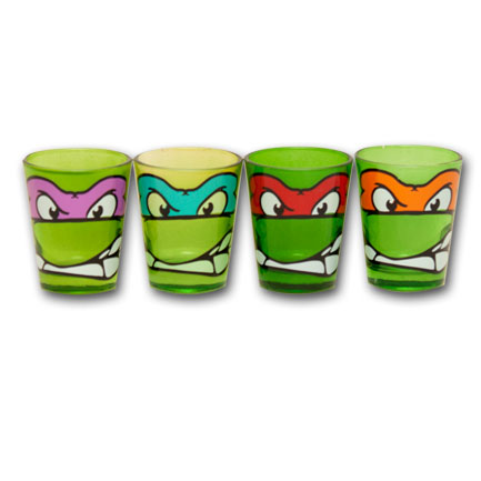 Teenage Mutant Ninja Turtles Shot Glasses 1