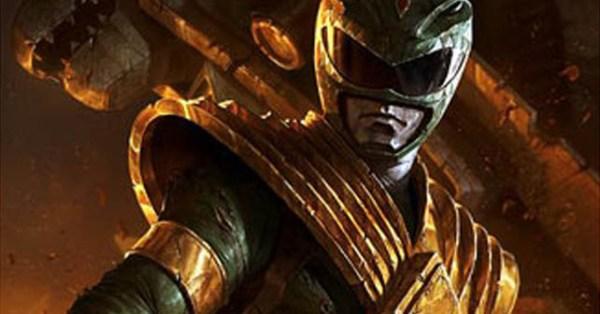 Green Power Ranger Lithograph