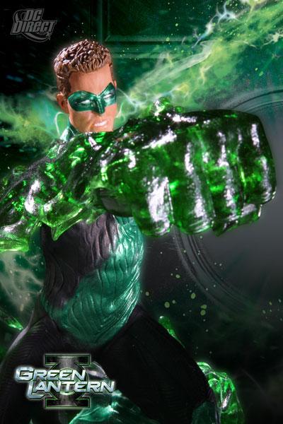 Green Lantern Emerald Energy Statue - Geek Decor