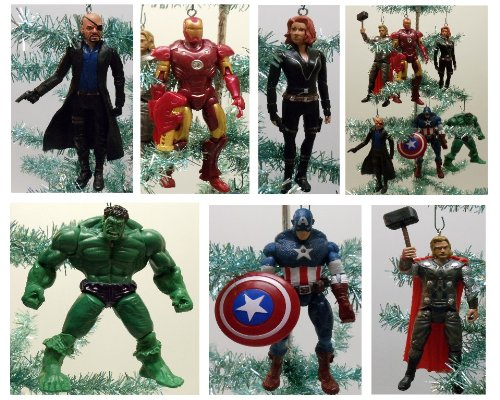 Avengers Christmas Ornament - Geek Decor