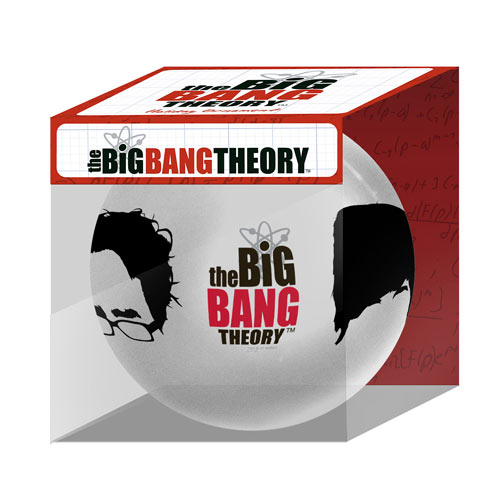 Big Bang Theory Hairline Christmas Ball - Geek Decor