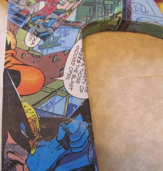Comic Book Decorative Letter - Geek Decor
