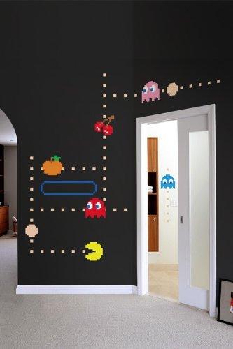 Pac-Man Wall Decal - Geek Decor