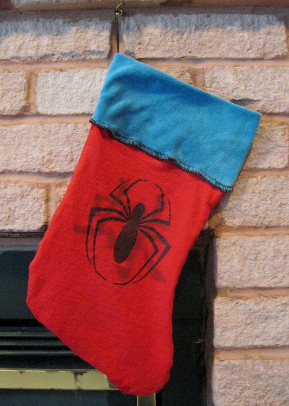Spider-Man Stocking - Geek Decor
