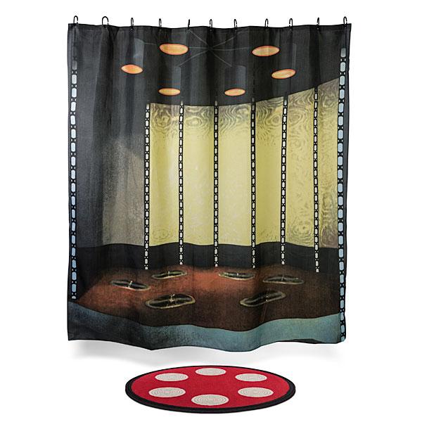 Star Trek Transporter Room Shower Curtain and Bath Mat - Geek Decor