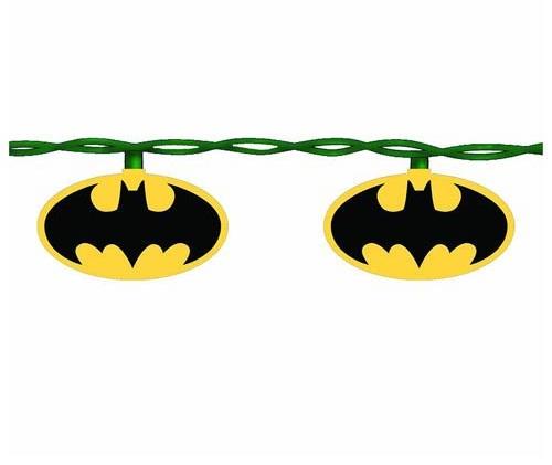 Batman Christmas Lights - Geek Decor