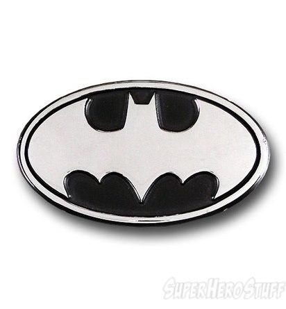 DC Superheroes Chrome Car Emblems - Geek Decor