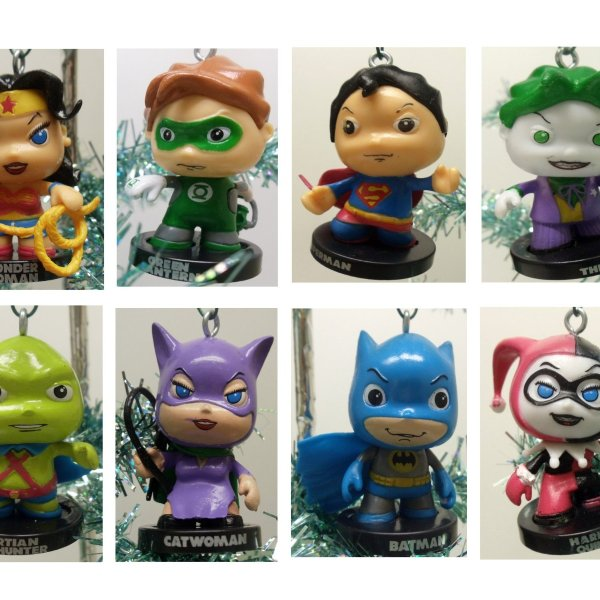 DC Comics Christmas Ornaments - Geek Decor