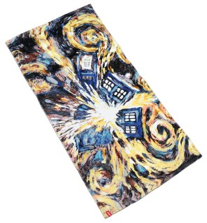 Doctor Who Exploding TARDIS Towel - Geek Decor