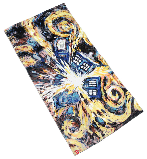 Doctor Who Exploding TARDIS Towel   Geek Decor ...