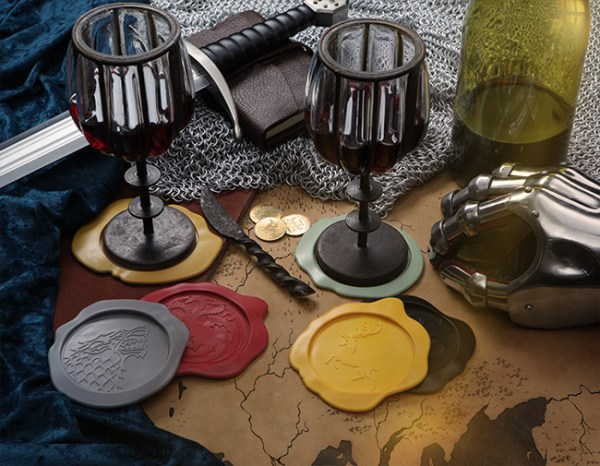 Game of Thrones Wax Seal Coasters - Geek Decor