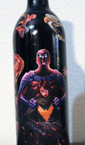 Marvel Comic Book Wine Bottles - Geek Decor