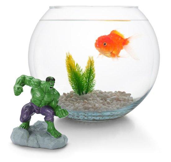 Marvel Aquarium Figures - Geek Decor