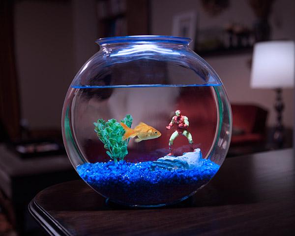 MARVEL Superheroes Aquarium Line