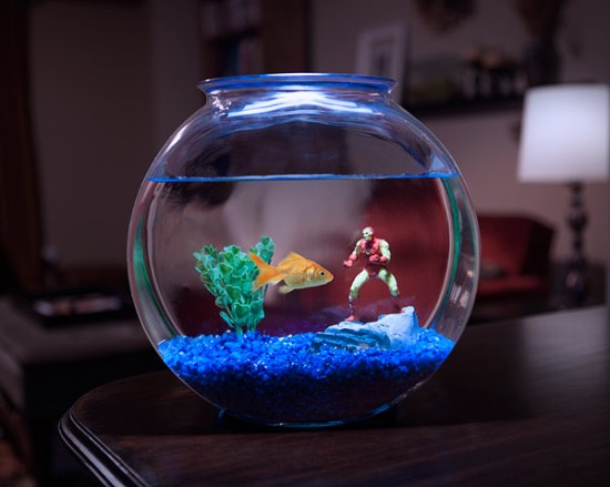 Marvel Aquarium Figures - Geek Decor
