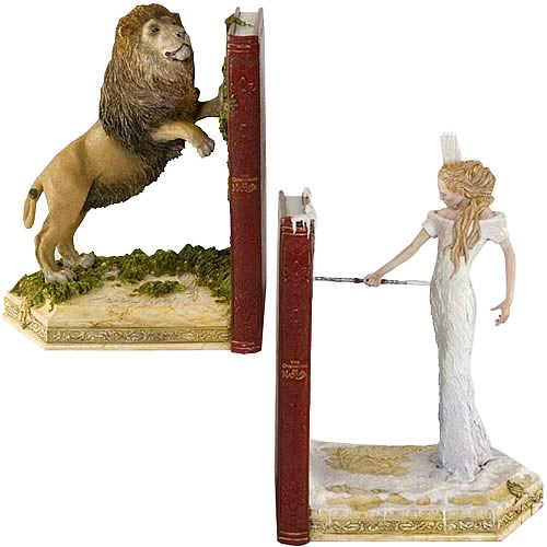 The Chronicles of Narnia Bookends - Geek Decor